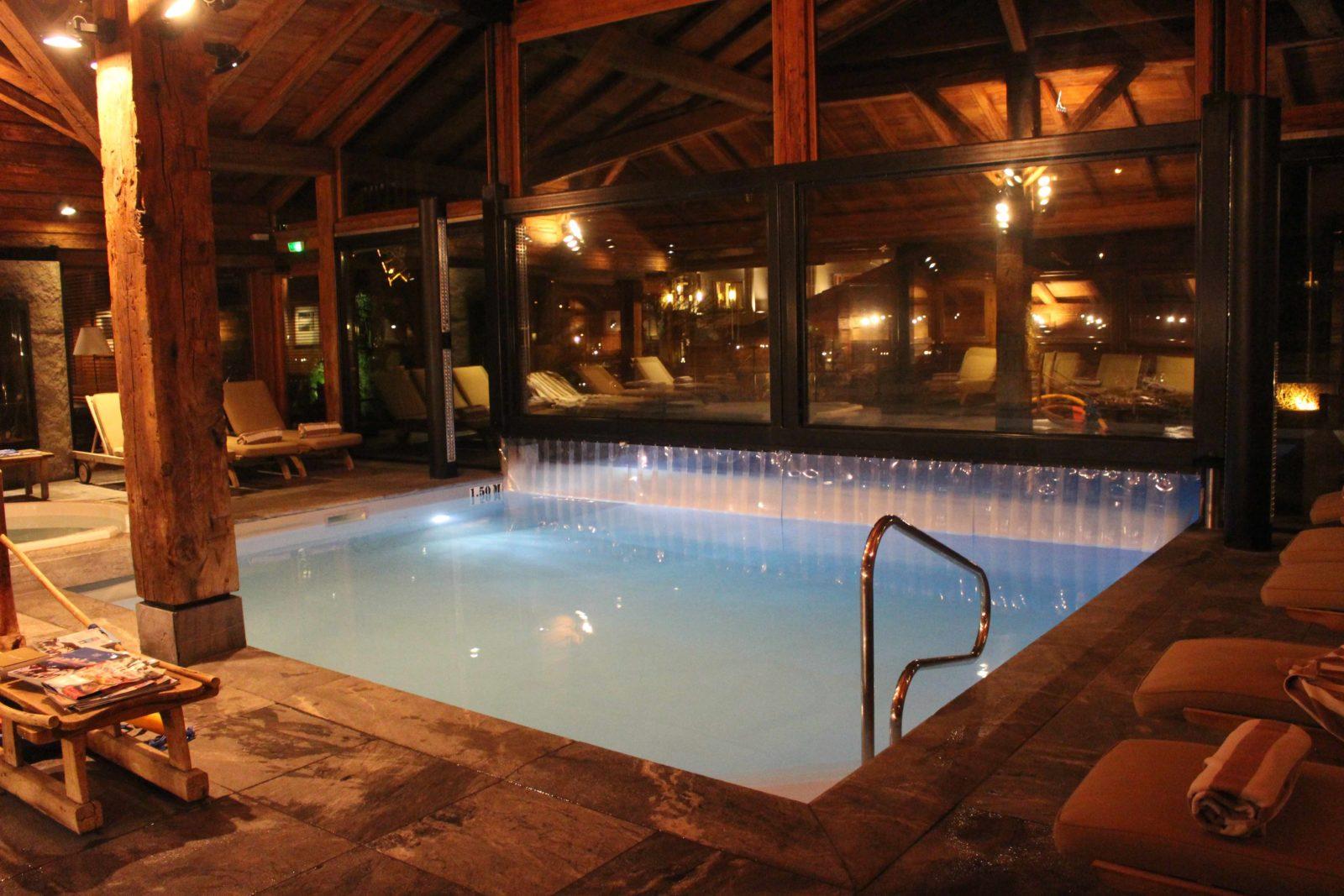 Chamonix Hameau Albert 1er piscine intérieure
