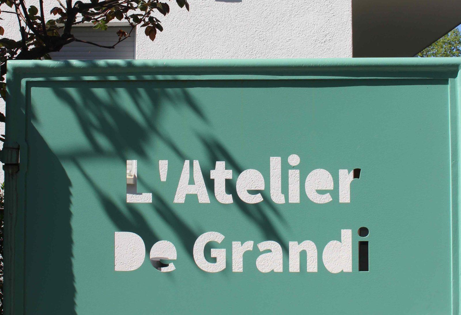Portail L'Atelier De Grandi Corseaux