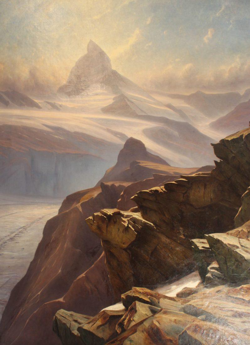 Musée alpin Chamonix Gabriel Loppé Cervin