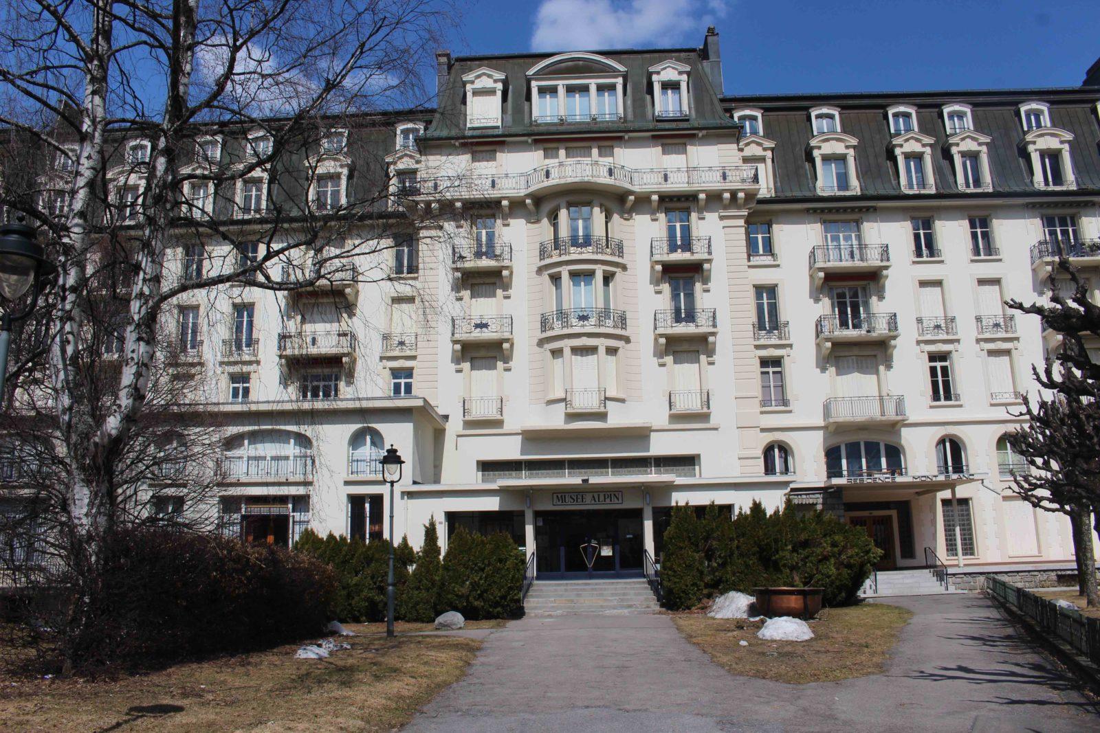 Chamonix le chamonix palace
