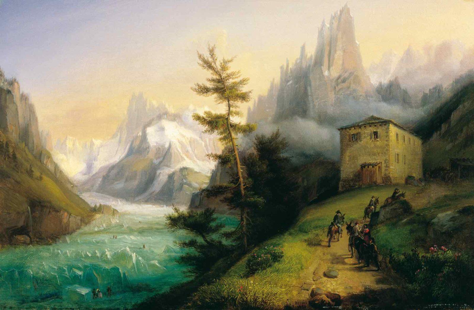François-Edme Ricois-collection Musée Alpin Chamonix