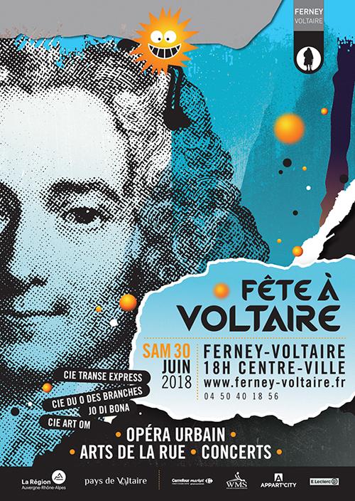 Affiche Fête à Voltaire 2018