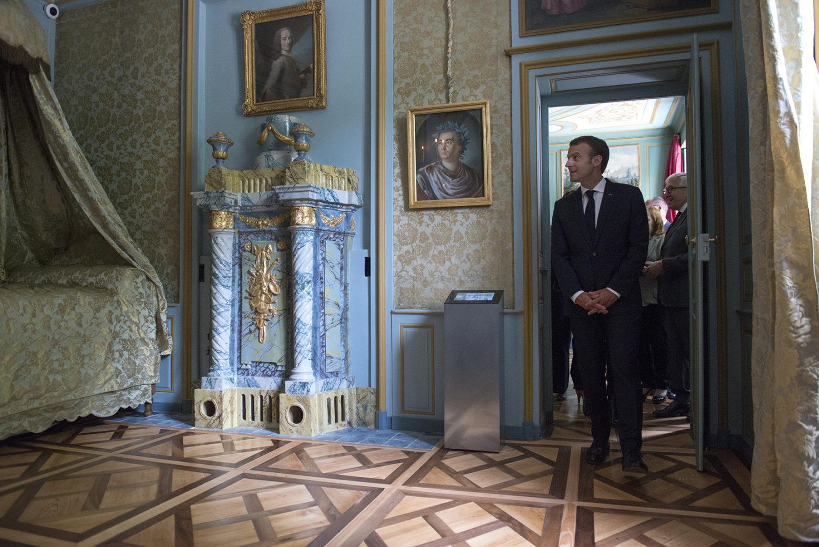 château de Ferney Voltaire visite chambre Voltaire