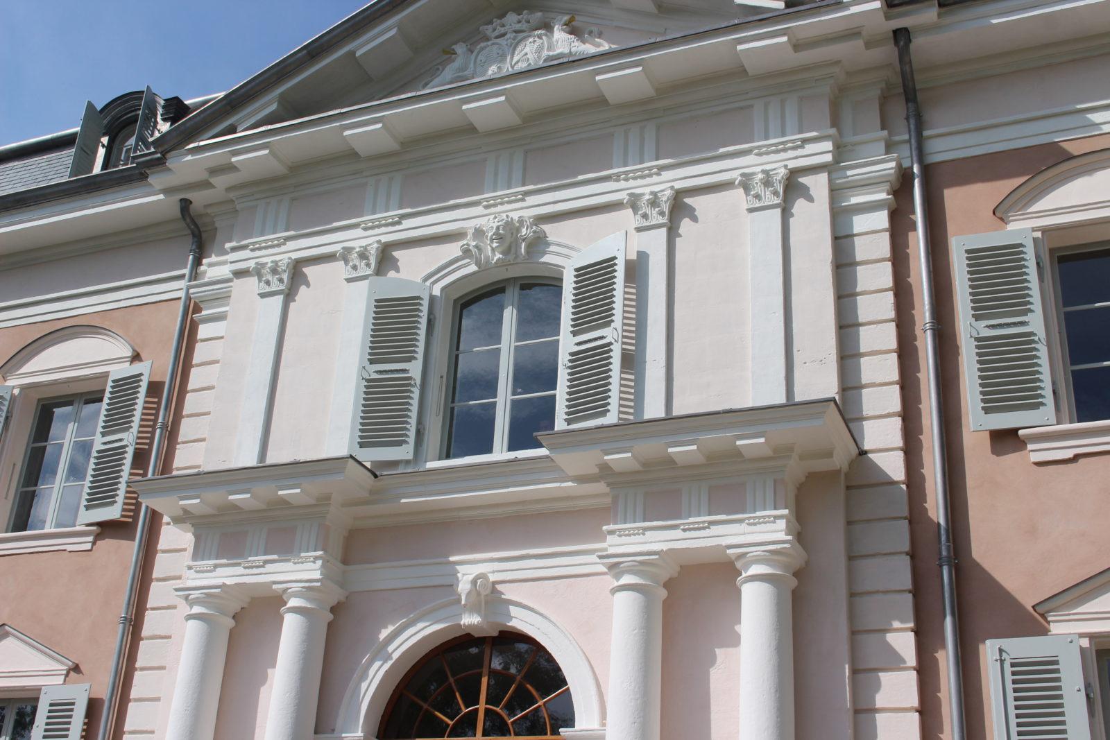 château de Ferney Voltaire vue façade