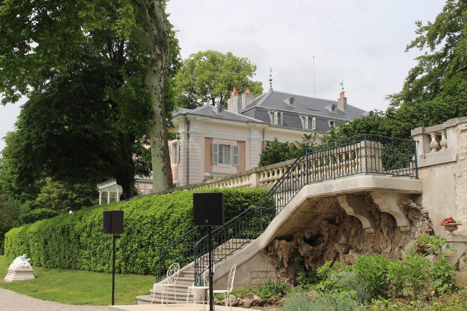 château et jardin de Ferney Voltaire