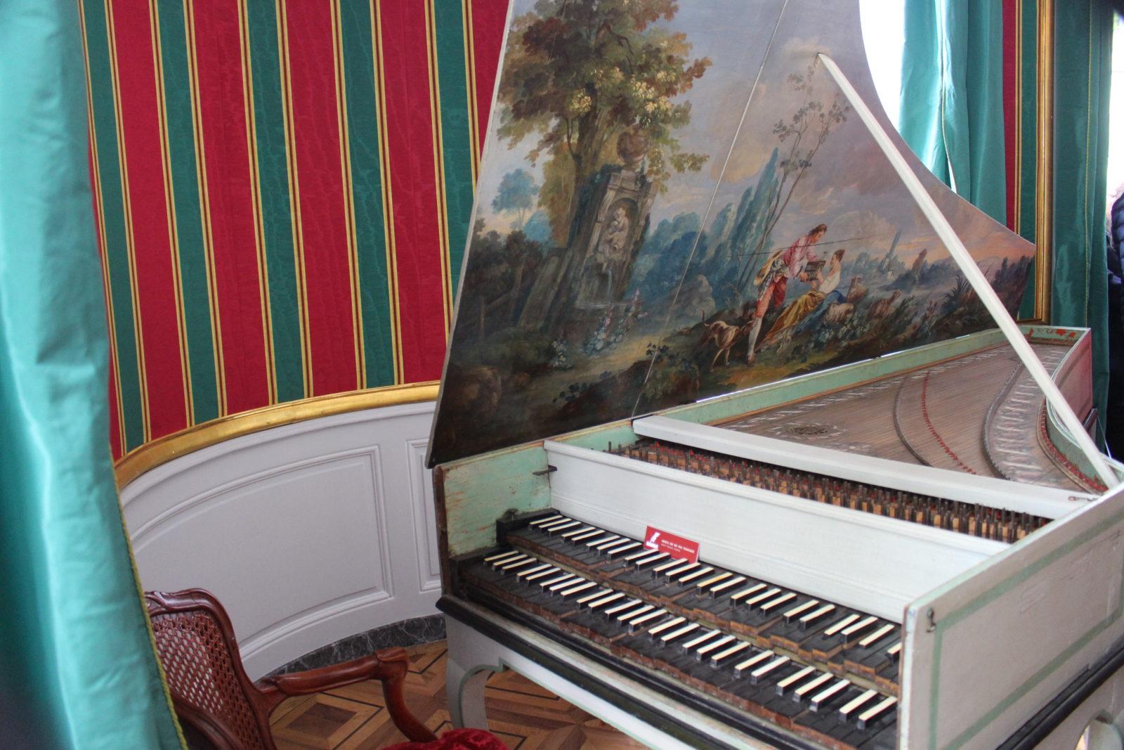 ferney Voltaire Le clavecin