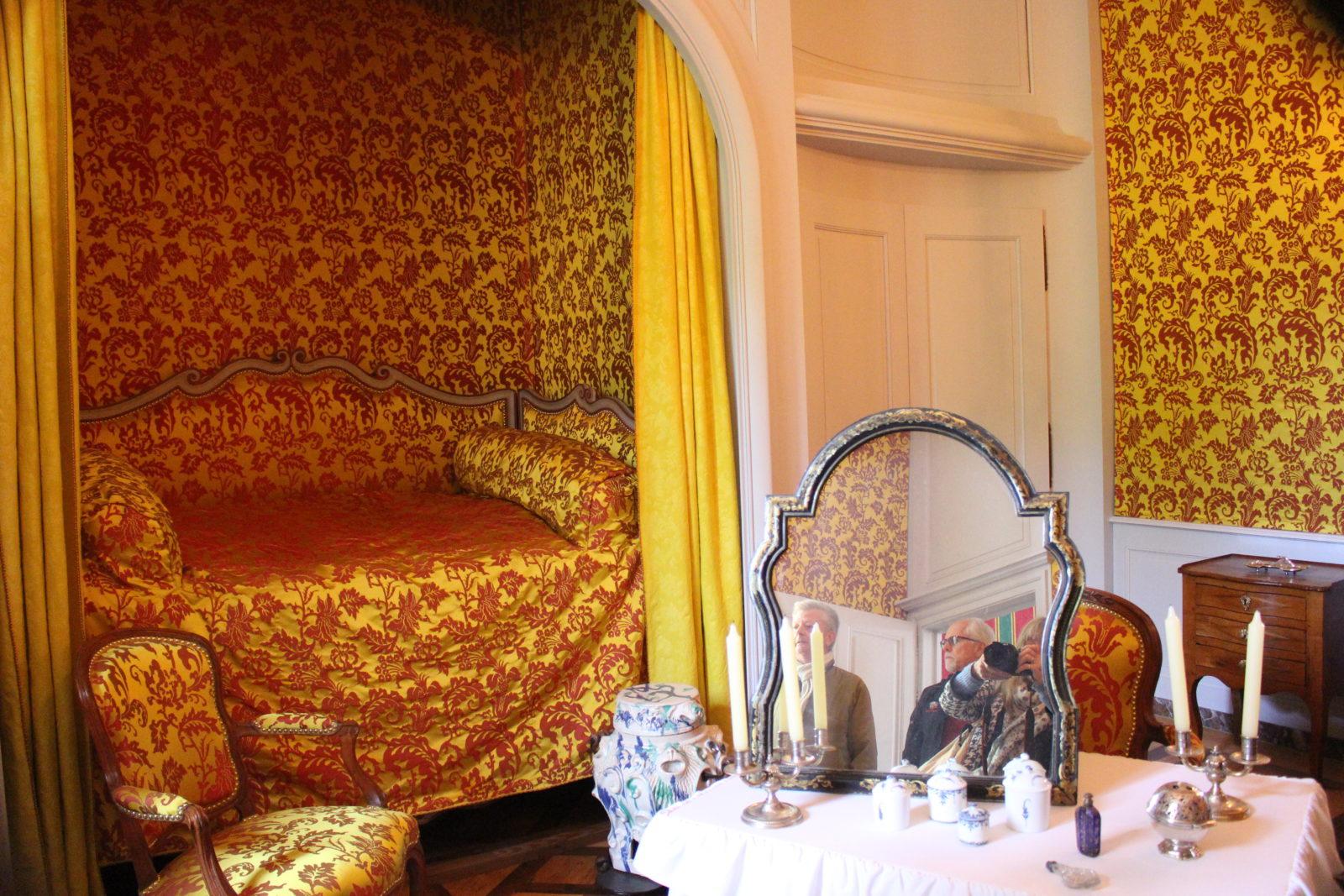 ferney Voltaire Le lit de Madame Denis