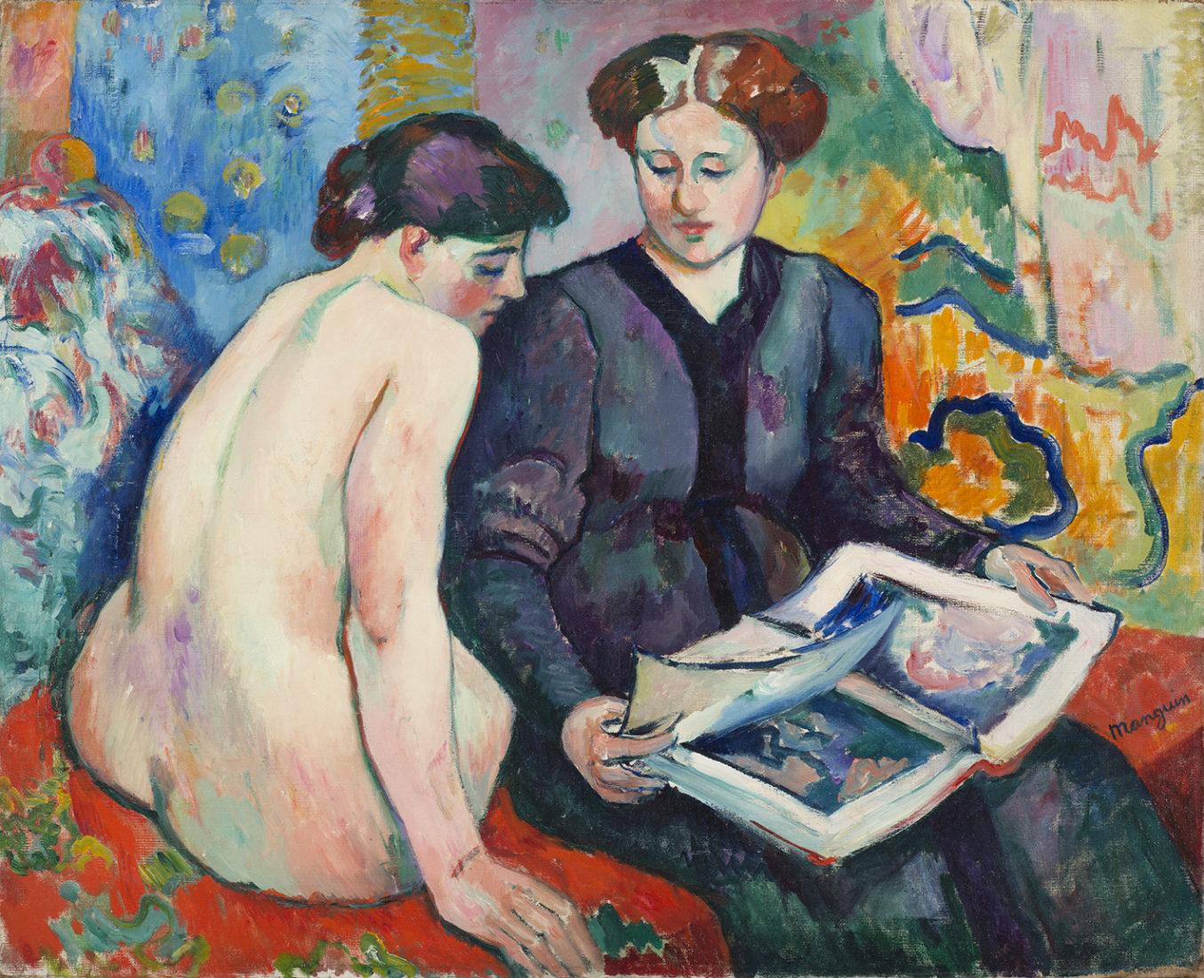 MANGUIN, Henri_Las estampas, 1905