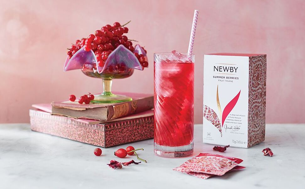 Newsbea Teas cocktail berries