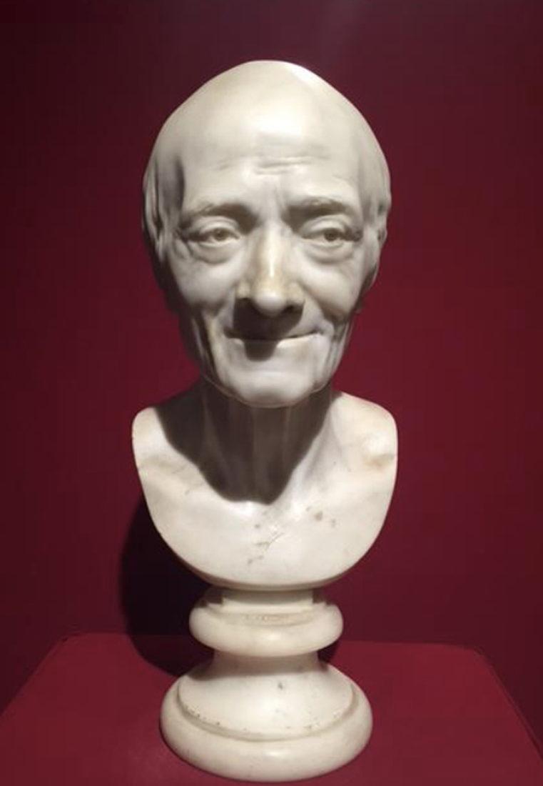 château de Ferney buste de Voltaire par Houdon