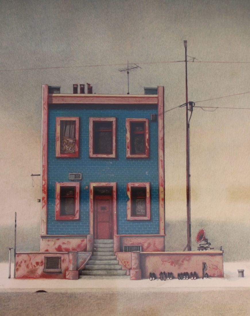 Rébecca Dautremer illustration maison