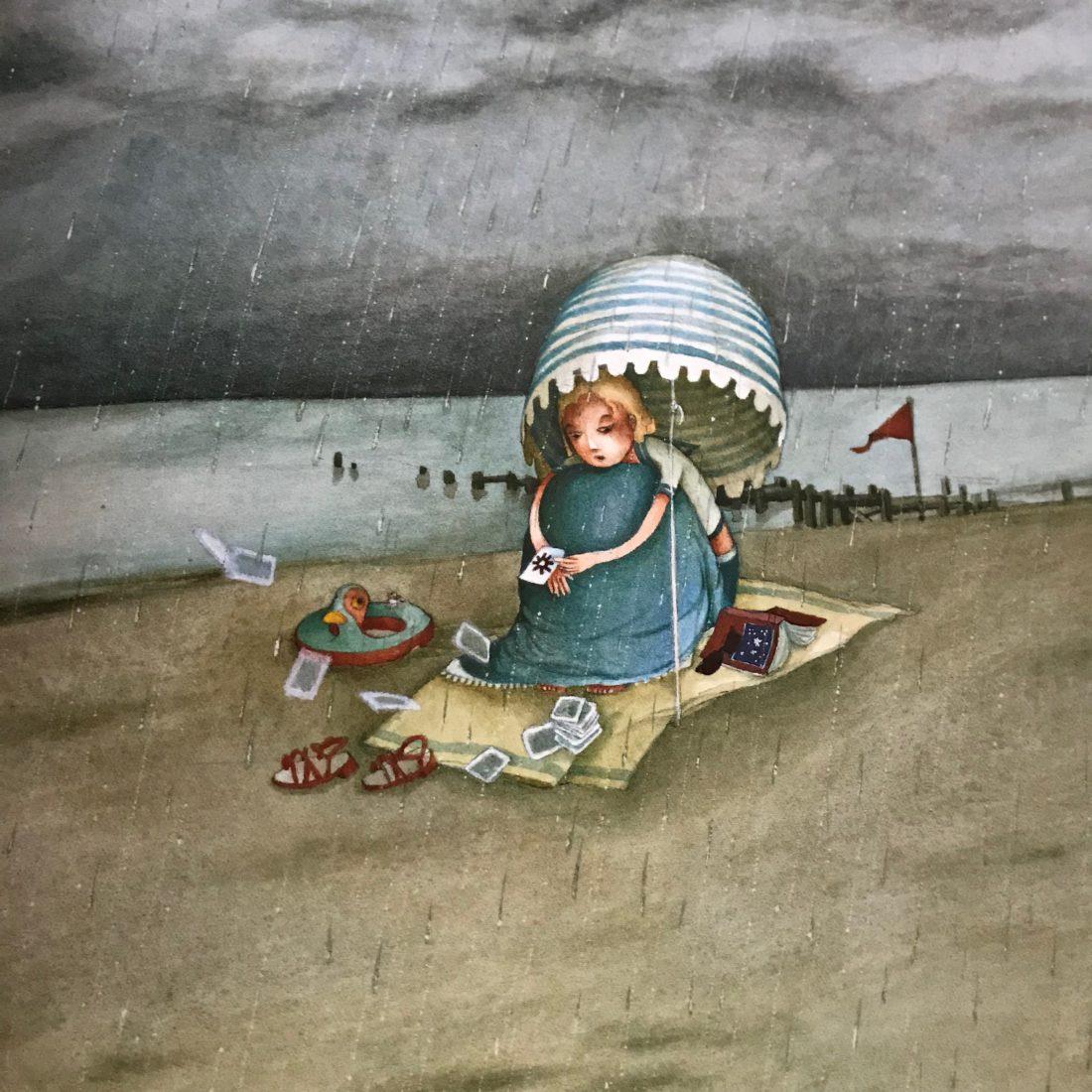 Rébecca Dautremer illustration plage