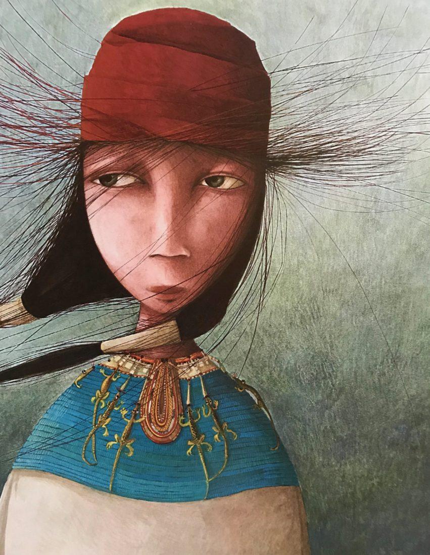 Rébecca Dautremer illustration portrait