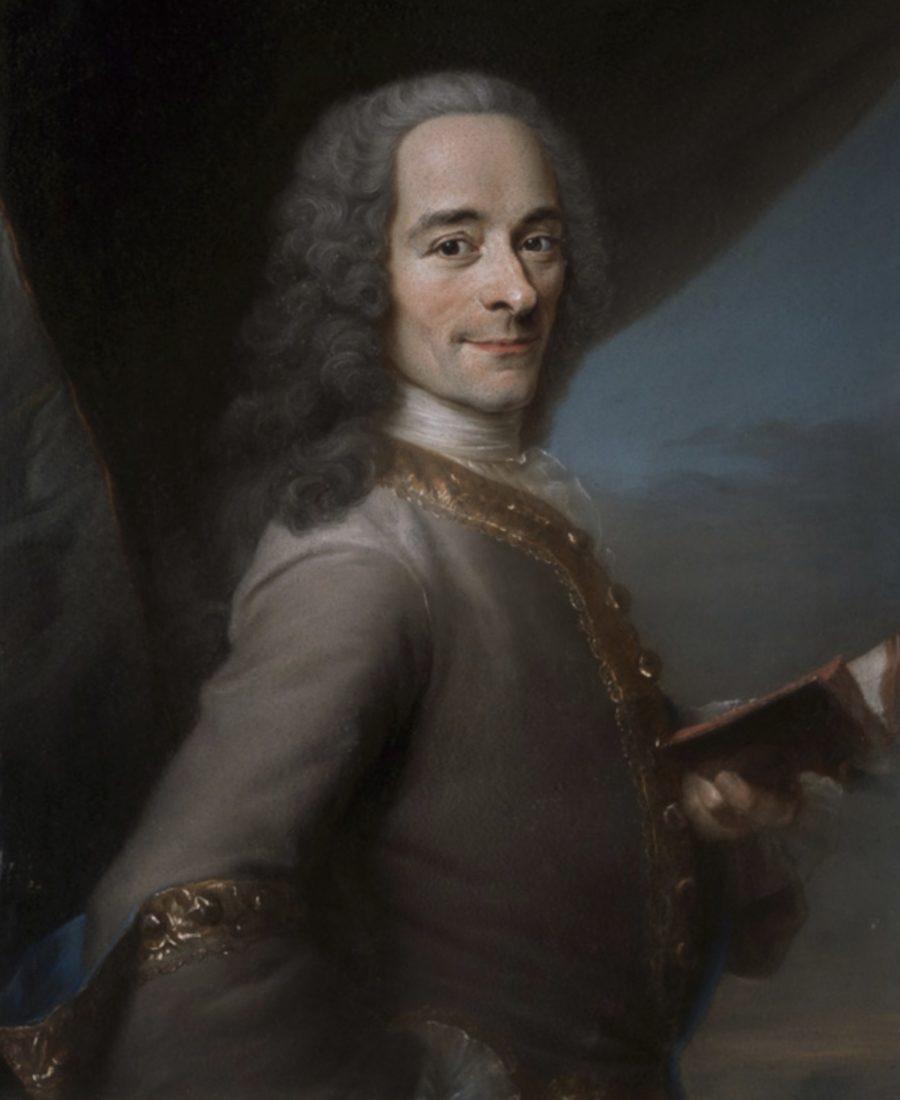 Château de Ferney portrait Voltaire Maurice Quentin de La Tour.