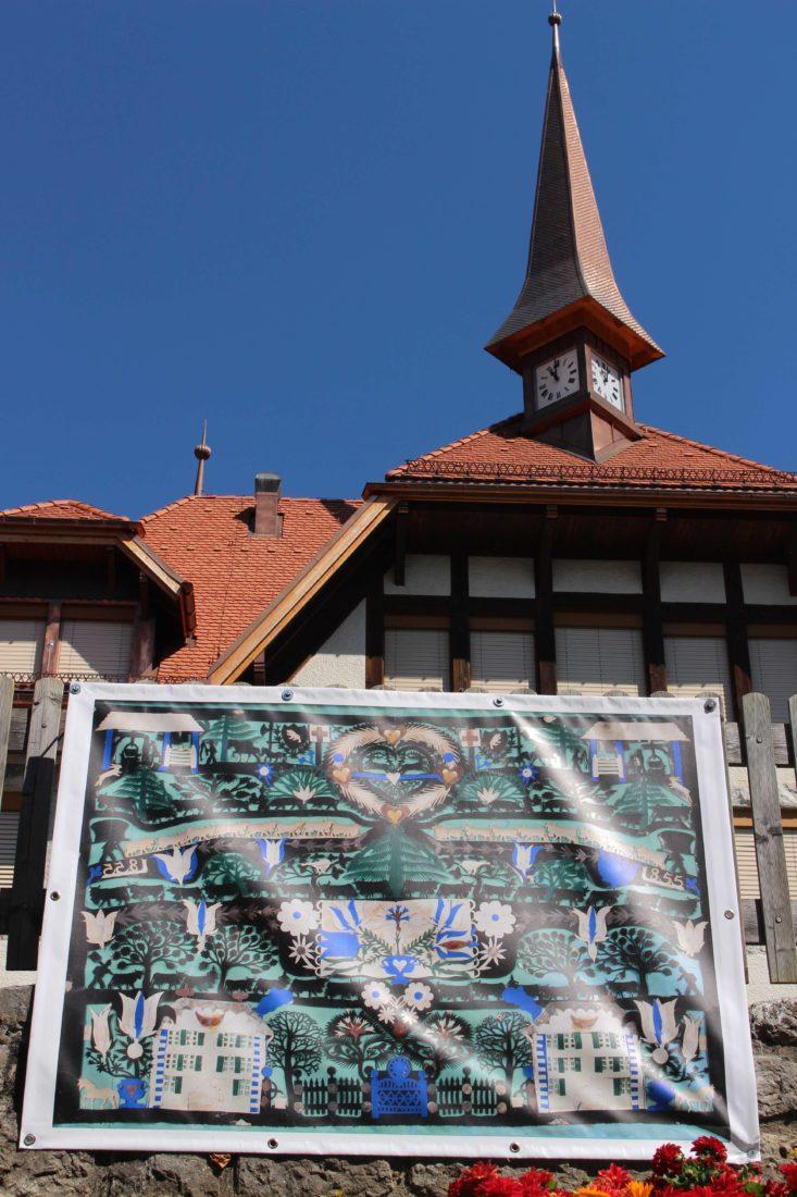 Château d'Oex - J.-J. Hauswirth été 2018