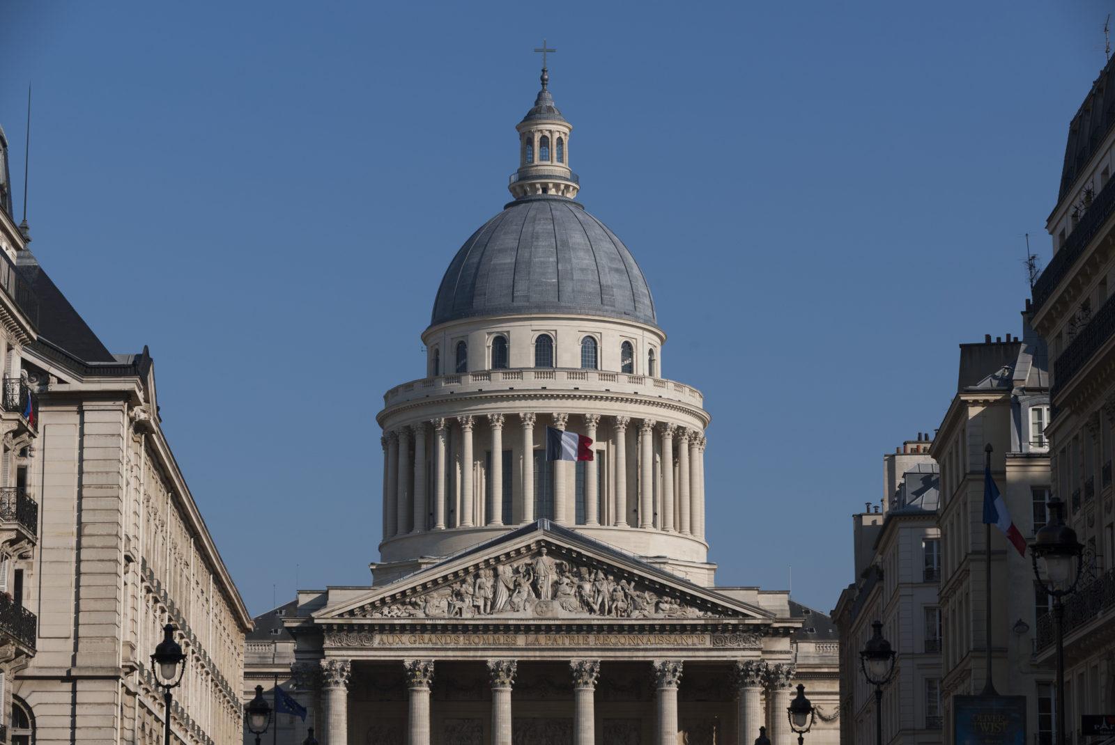 Panthéon vue depuis la rue Soufflot © Benjamin Gavaudo