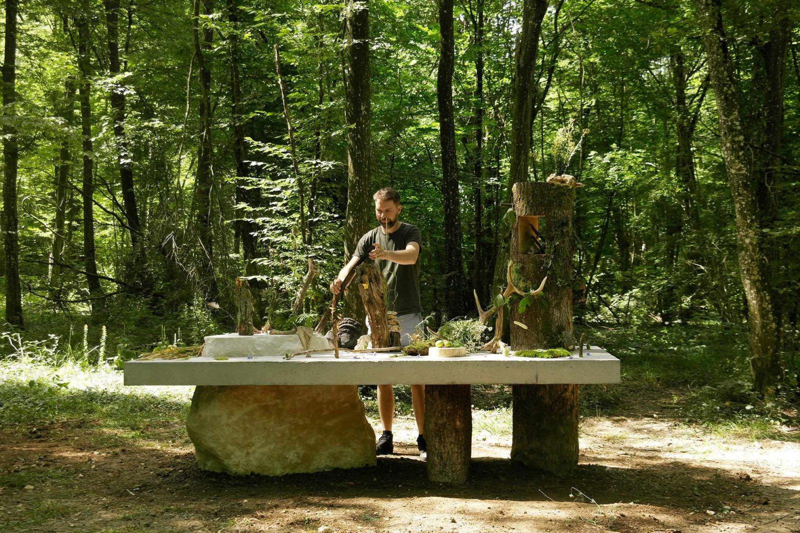 David de Tscharner, Nature morte, Vent des forêts 2018
