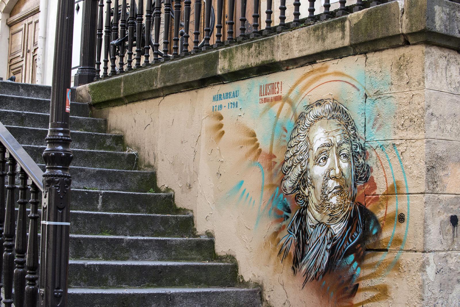 Paris autour du Pantheon Mirabeau - C215 - Didier Plowy