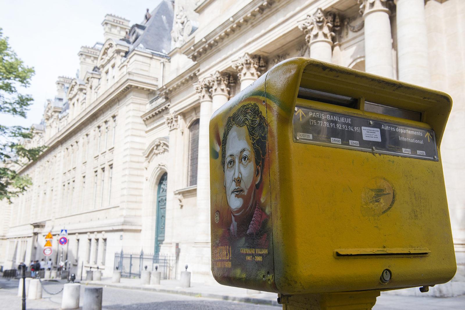 Paris Pantheon Germaine Tillion - C215 - Didier Plowy
