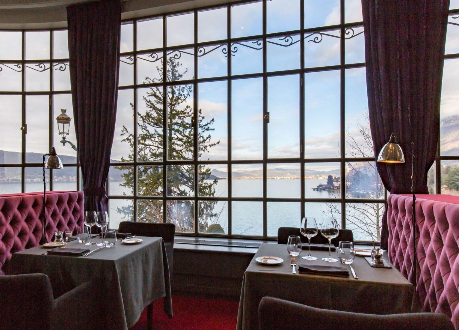 Le Palace de Menthon le restaurant Le Viu
