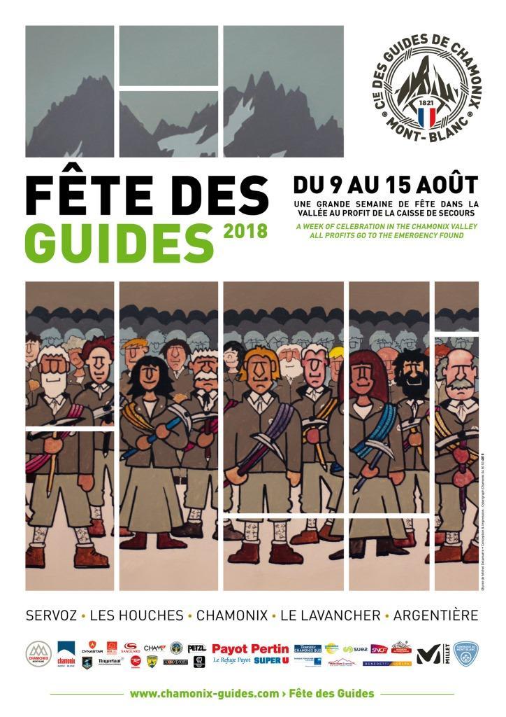 Fête des Guides à Chamonix 2018 affiche