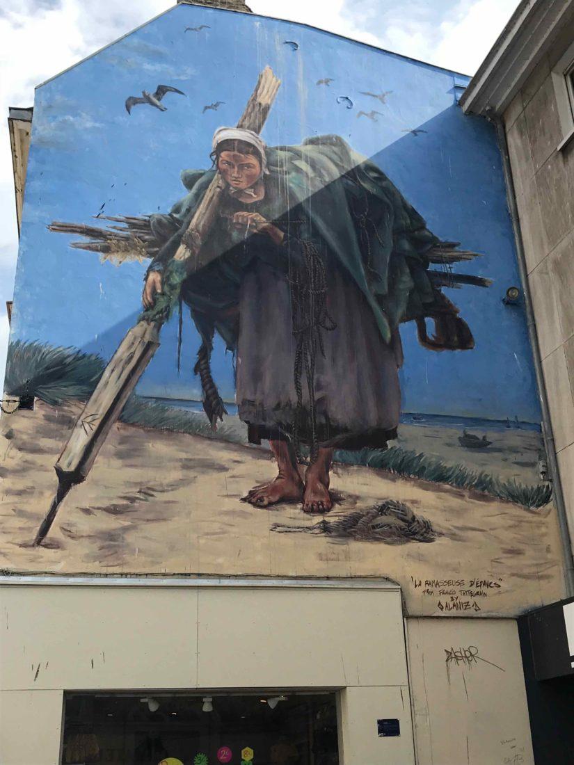 Boulogne-sur-Mer La ramasseuse d'épaves