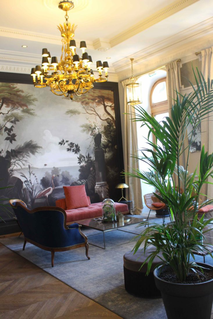 Le Palace de Menthon salon