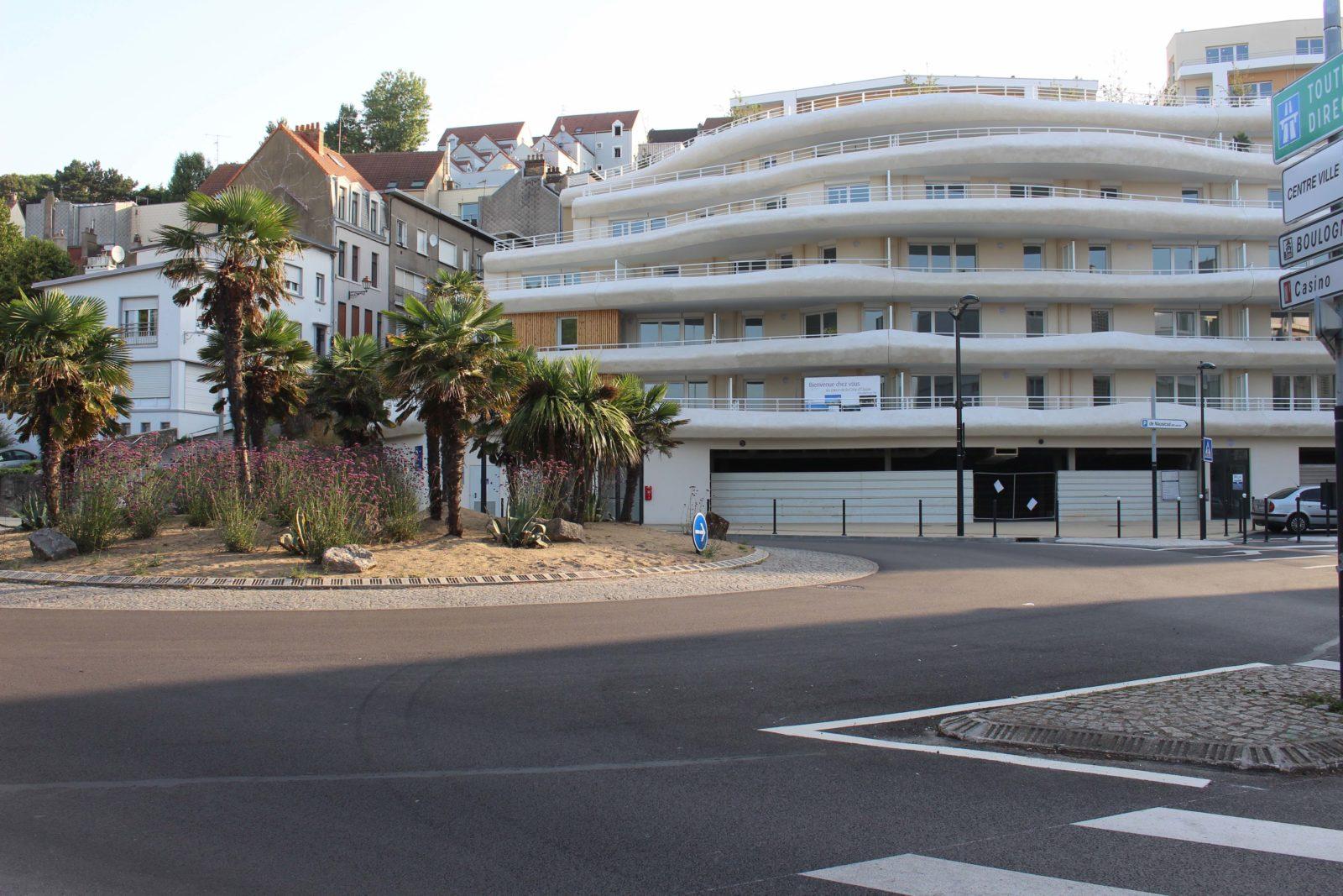 Boulogne-sur-Mer Les terrasses de la falaise