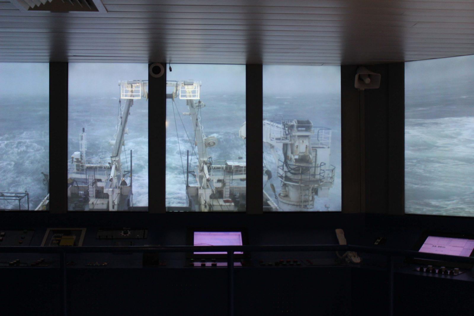 Nausicaa Boulogne sur mer - tempête à bord de la Thalassa