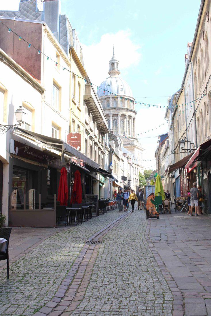 Boulogne-sur-Mer la ville haute