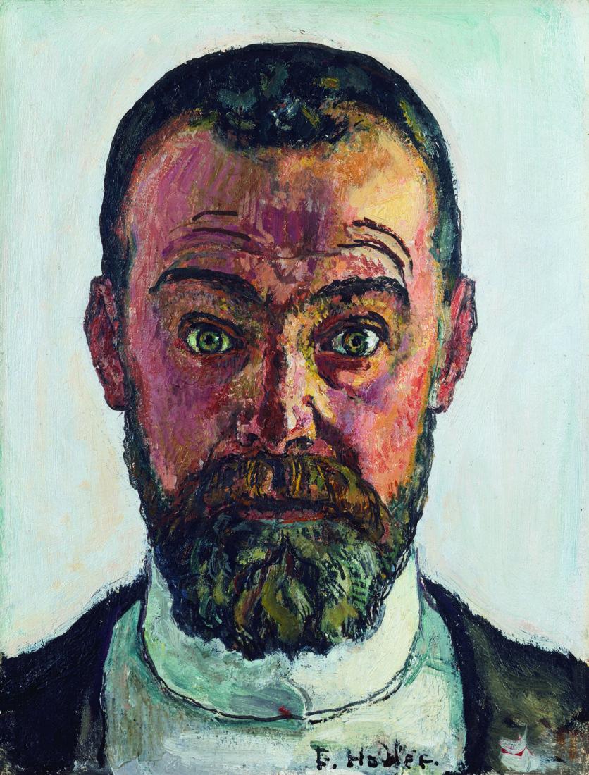 Hodler Selbstbildnis, 1912