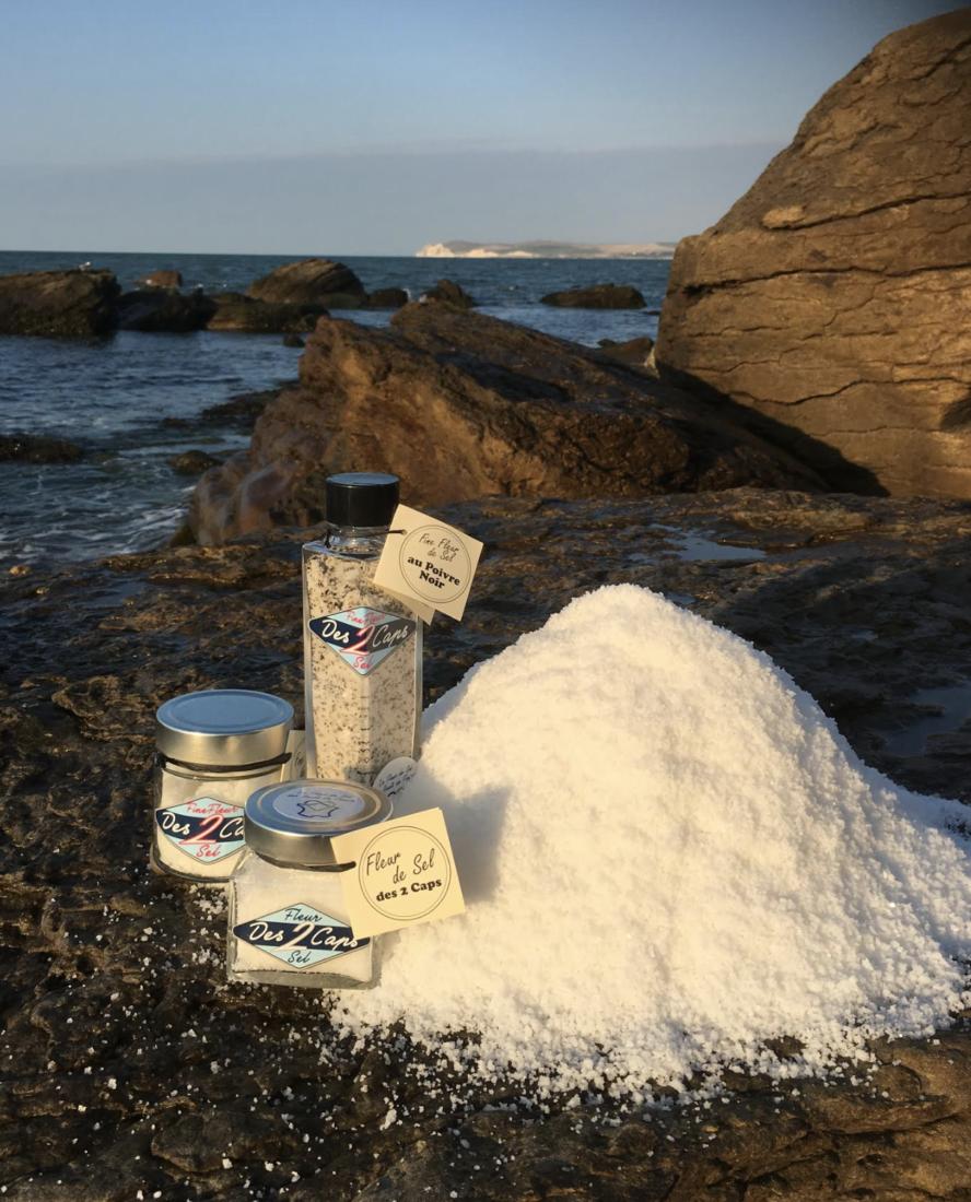 Cap gris-nez fleur de sel de Xavier Helsmoortel