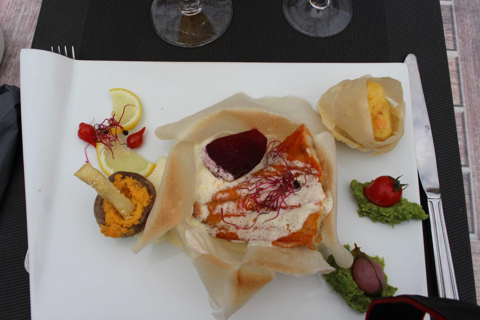 Boulogne-sur-Mer restaurant de la Haute Ville plat