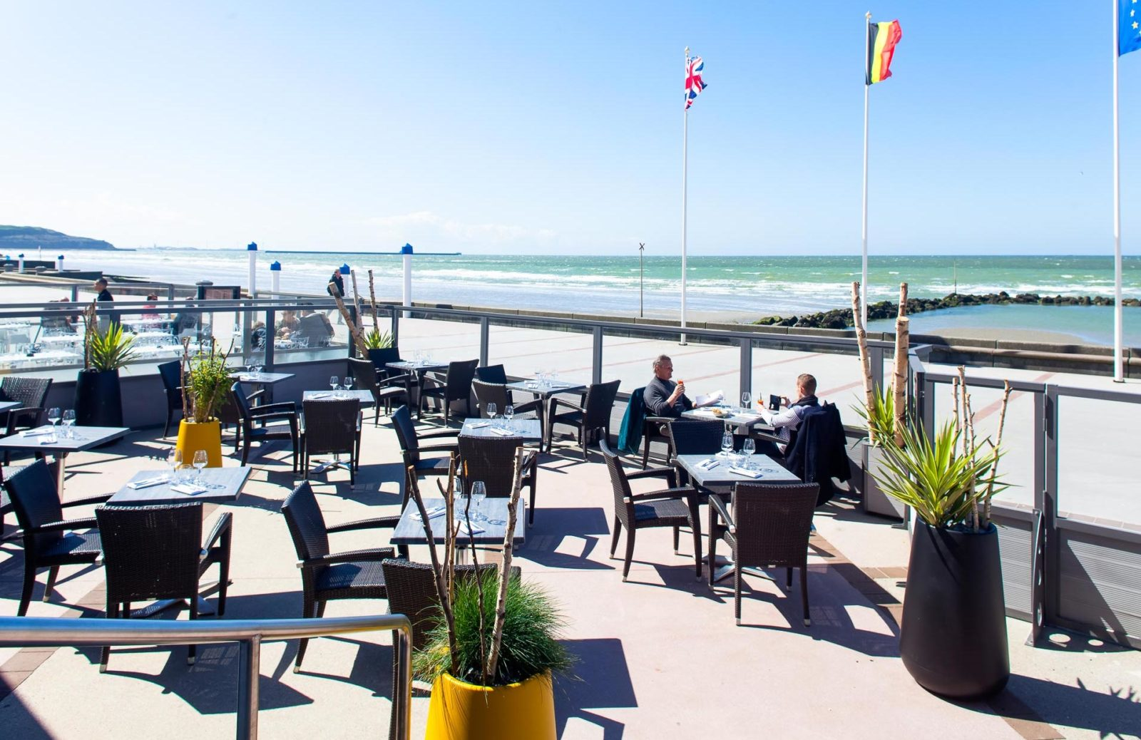 Wimereux hotel atlantic aloze terrasse