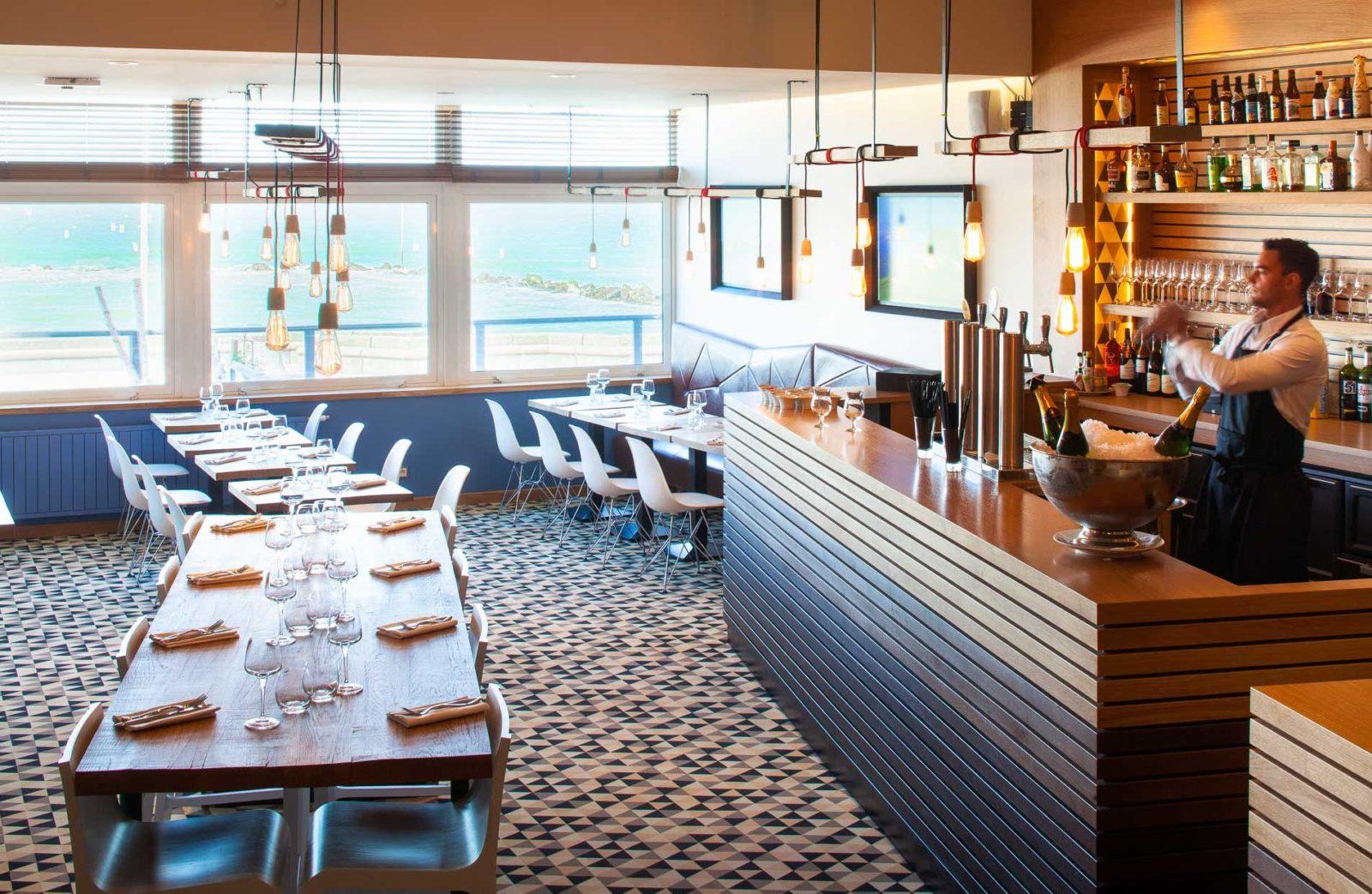 Wimereux restaurant L'aloze bar