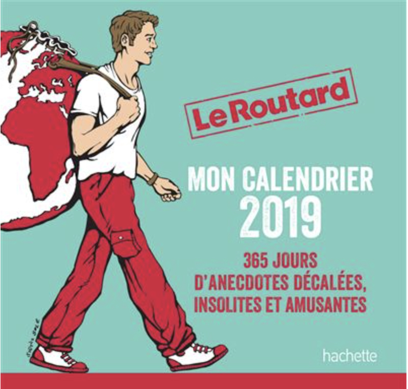 calendrier 2019 Le Routard
