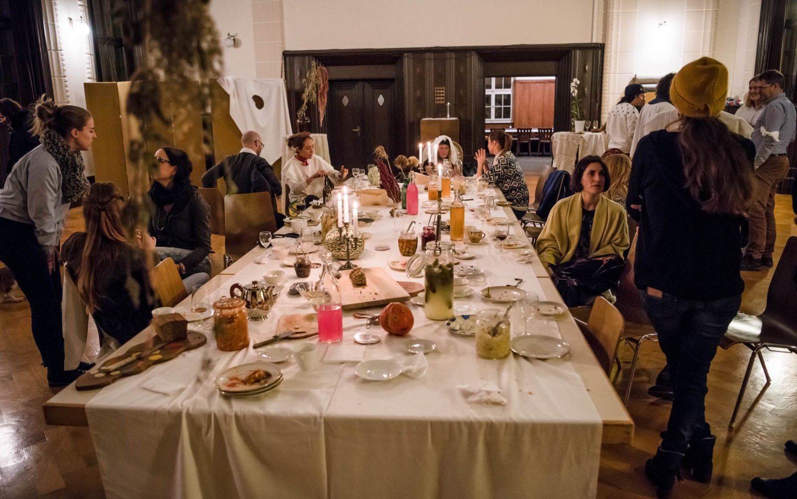 foodculture days 2018 Projet : Maya Minder + Marc Dusselier
