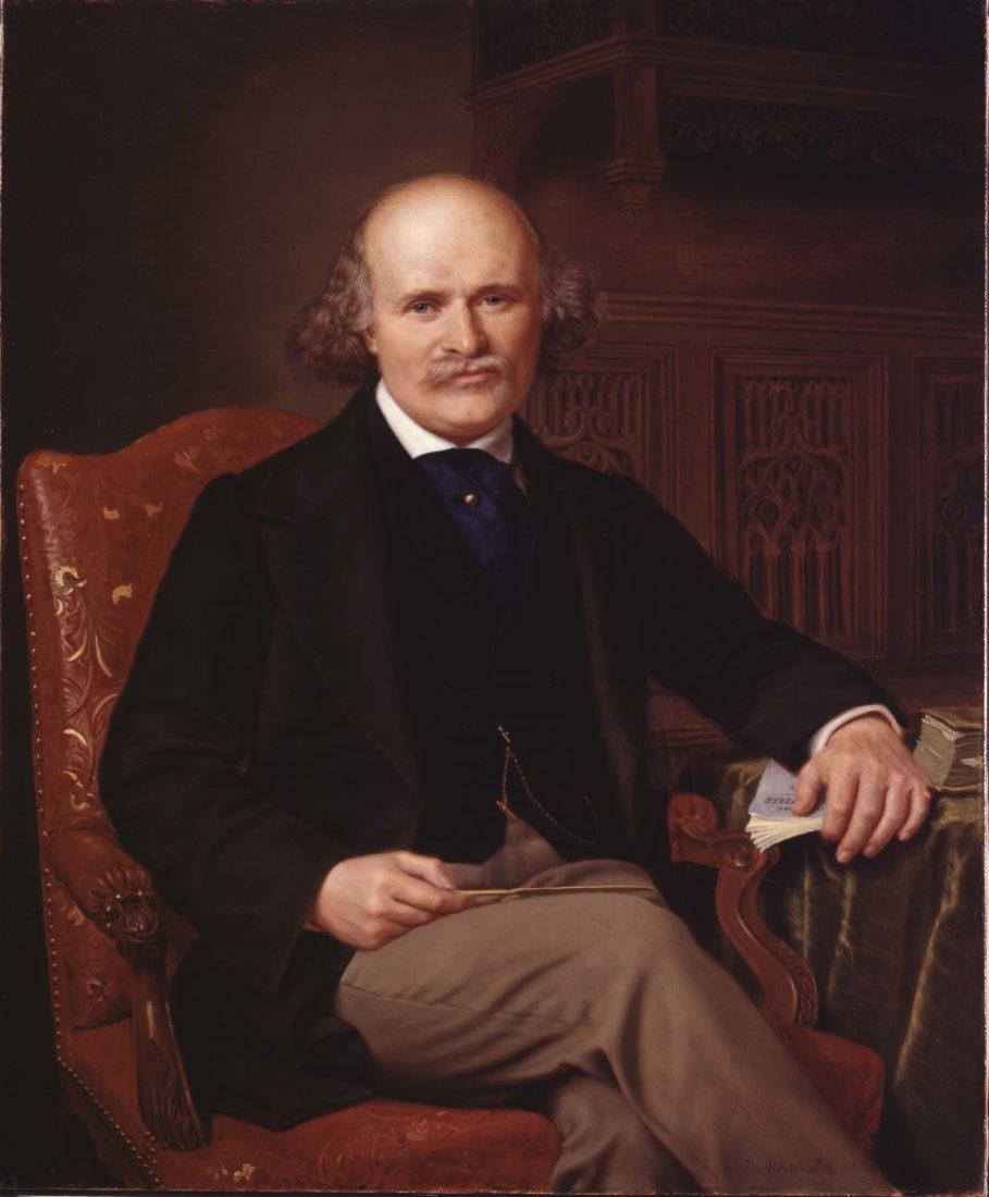 Alexandre-Louis-Francois d'Albert-Durade (1804-1886) Gustave Revilliod, 1863,