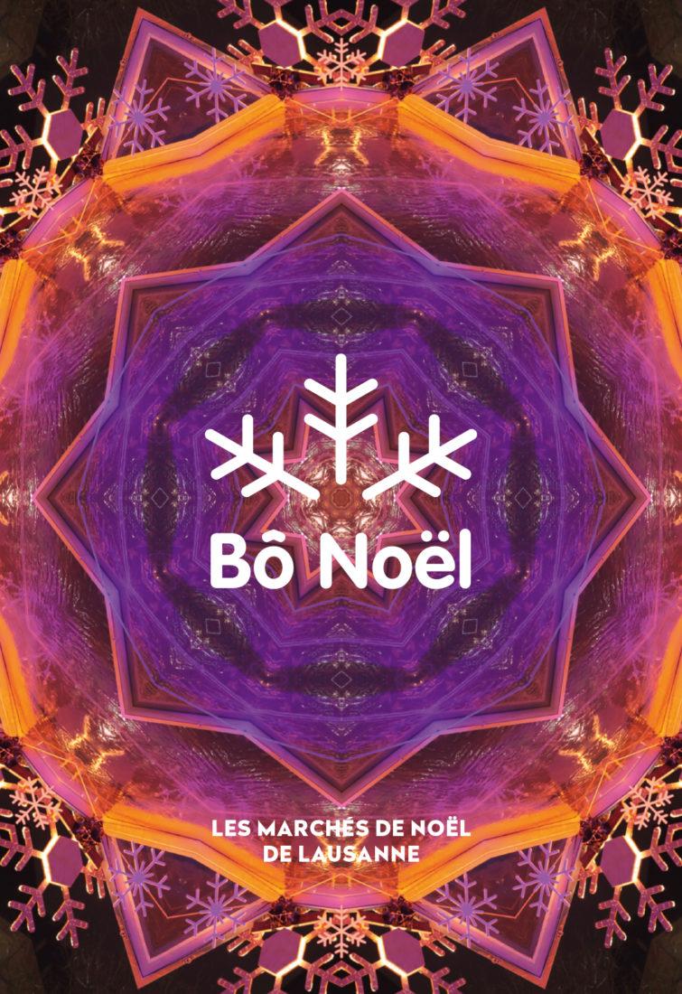 Affiche Bô Noel Lausanne