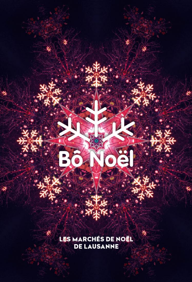 Affiche 2 Bô Noel Lausanne