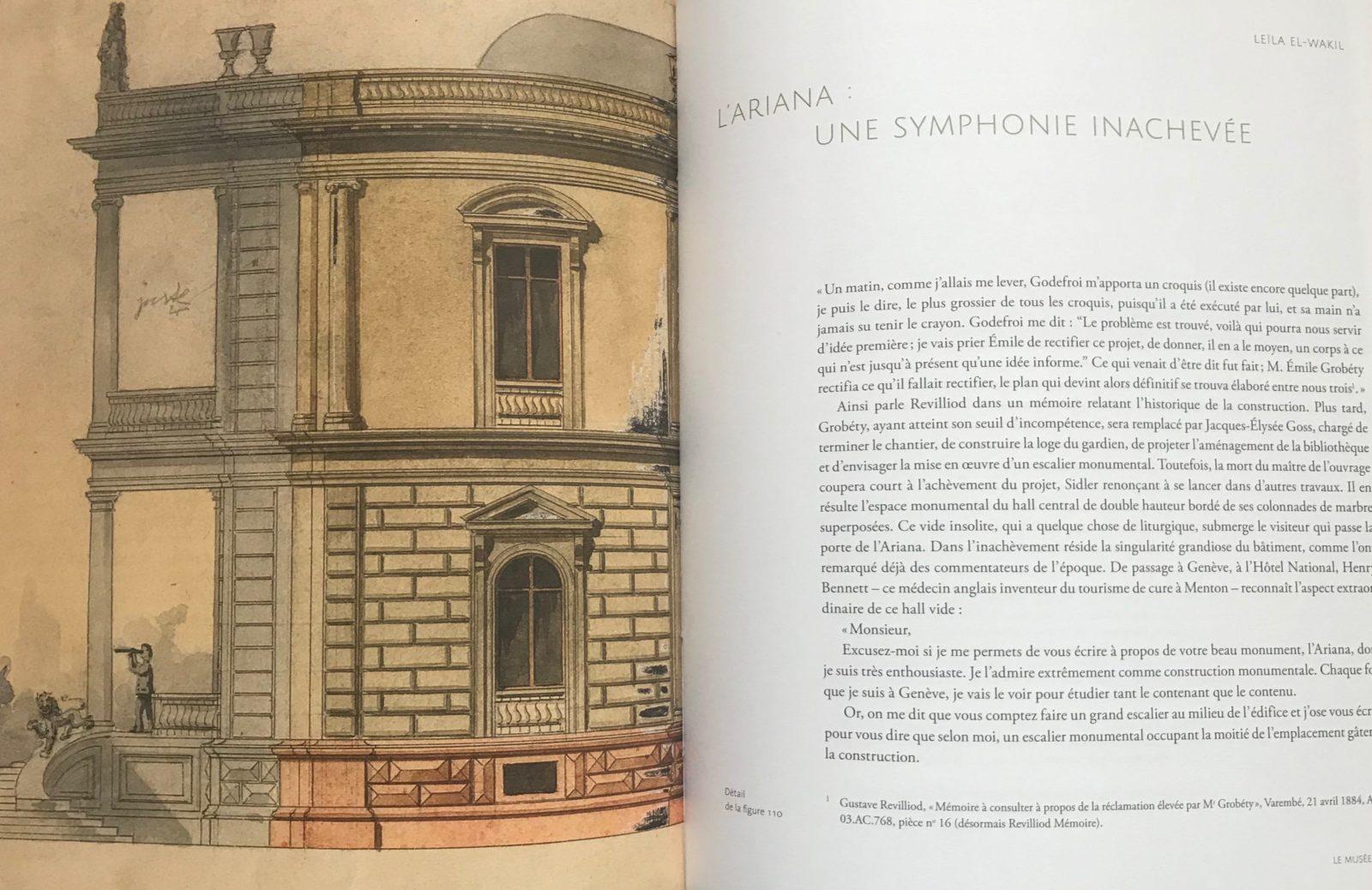 Publication exposition Gustave Revilliod Ariana Genève