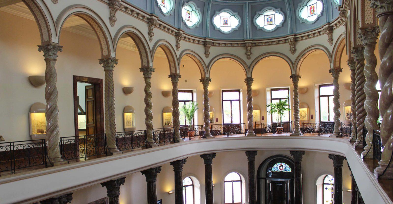Intérieur du Musée Ariana Genève