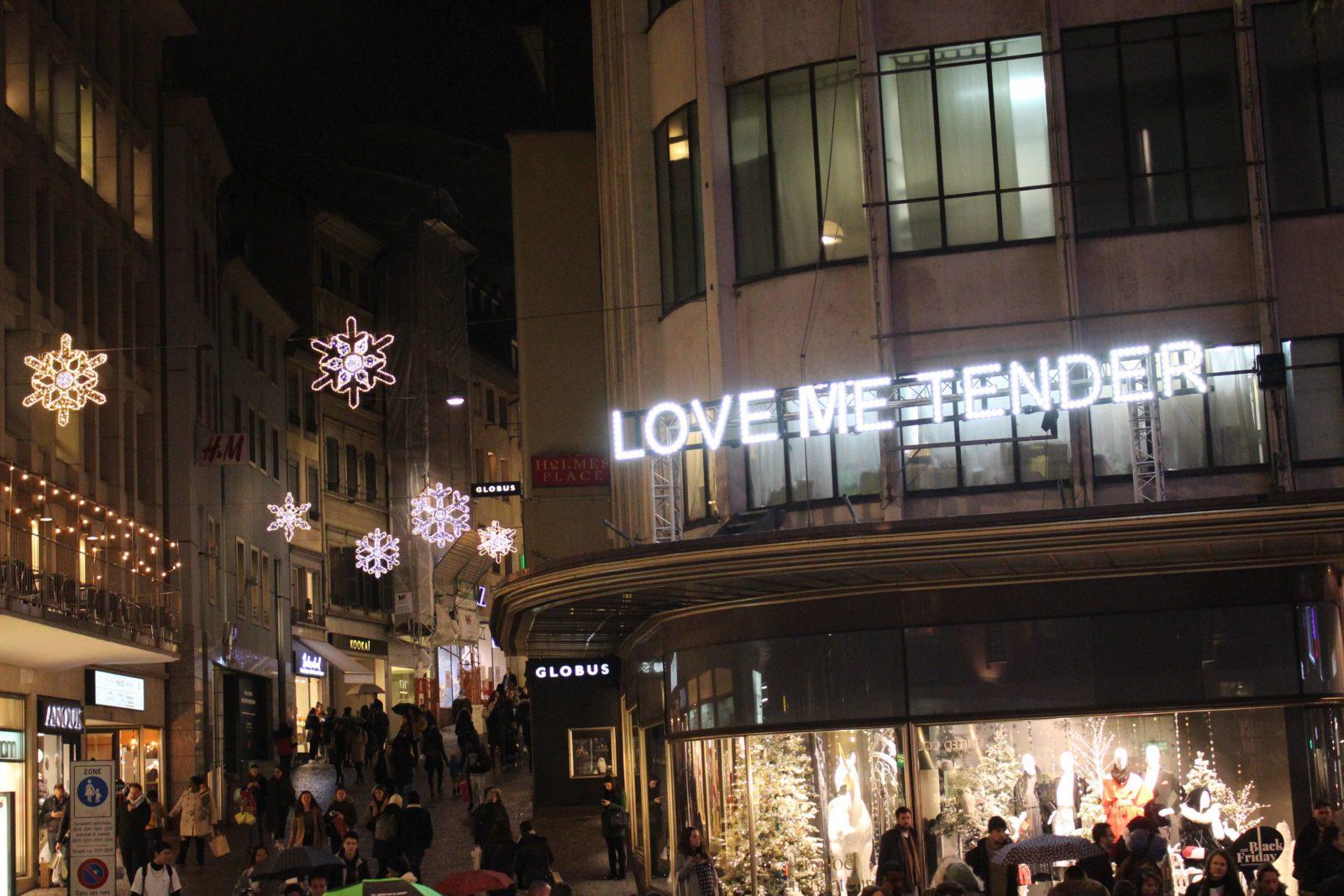 Bô Noel 2018 Love me tender