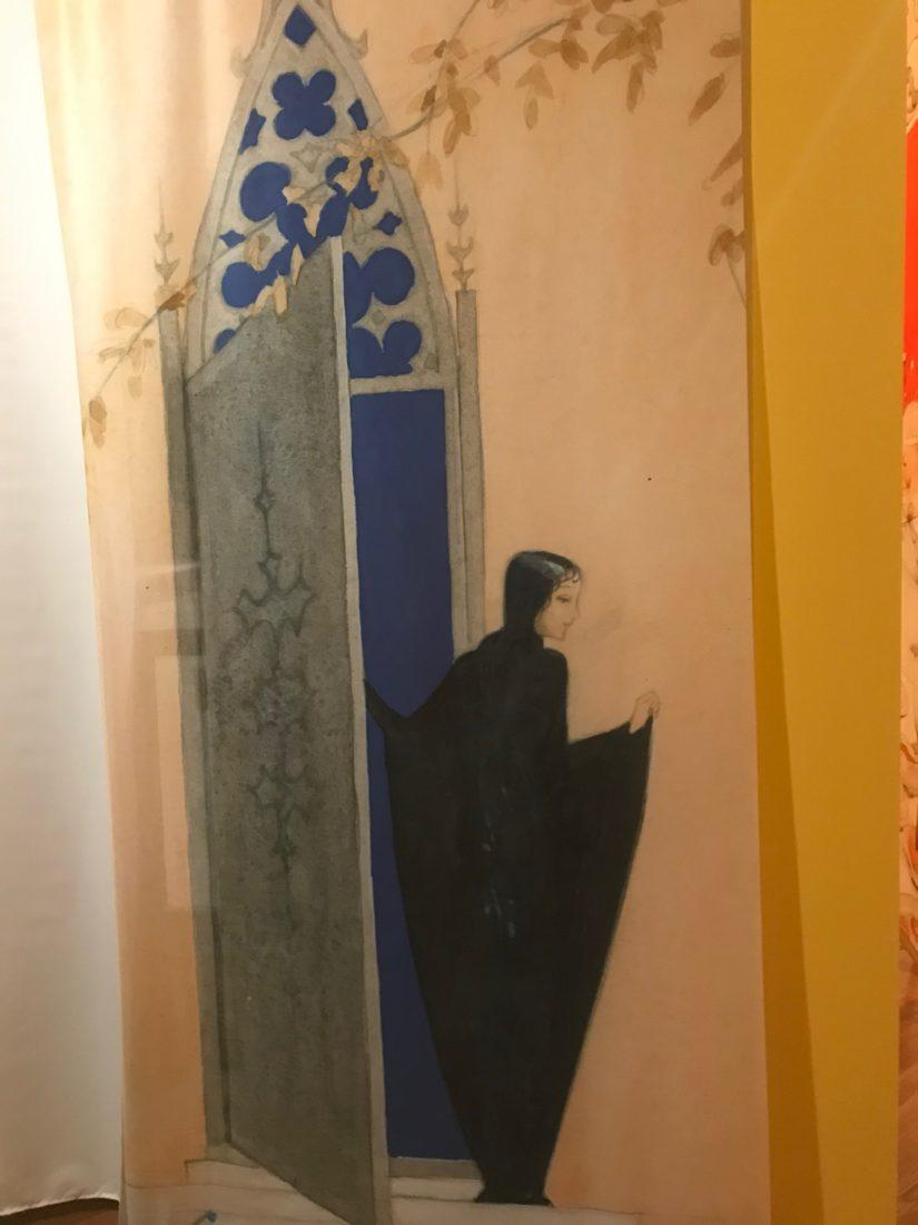 Exposition Légendes pays du nord Evian décor château