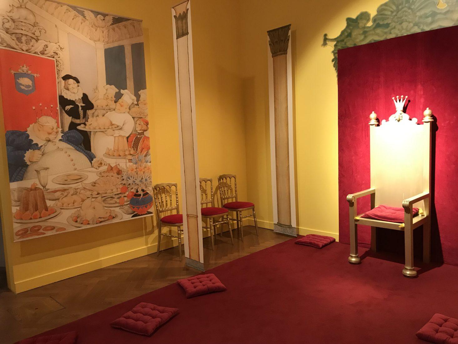 Evian-les-Bains ~ Palais Lumière 2018 - Légendes des Pays du Nord Le trône