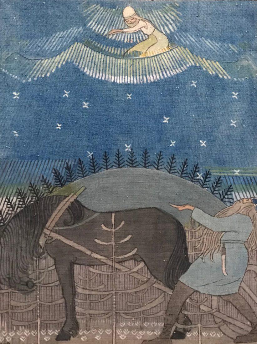 Joseph Alanen, La Belle Vierge de Pohja