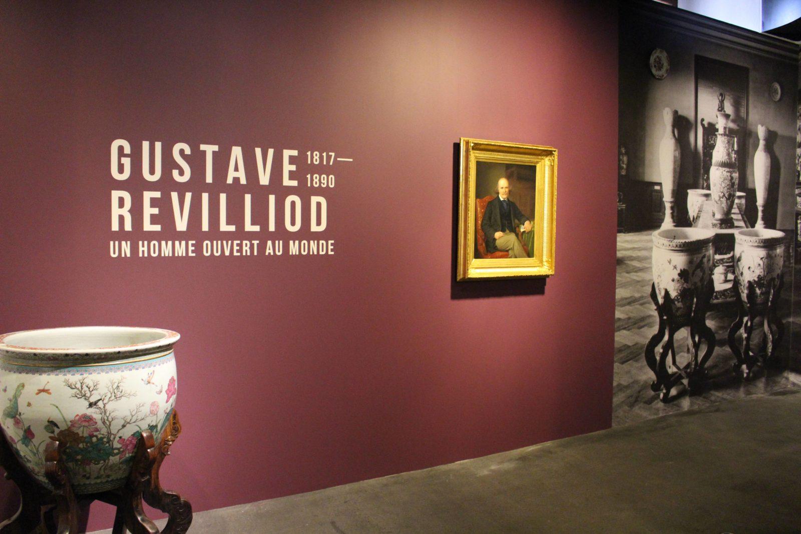 Entrée de l'exposition Gustave Revilliod