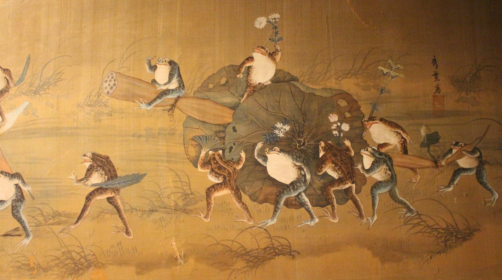 Peintures sur soie Musée Ariana genève