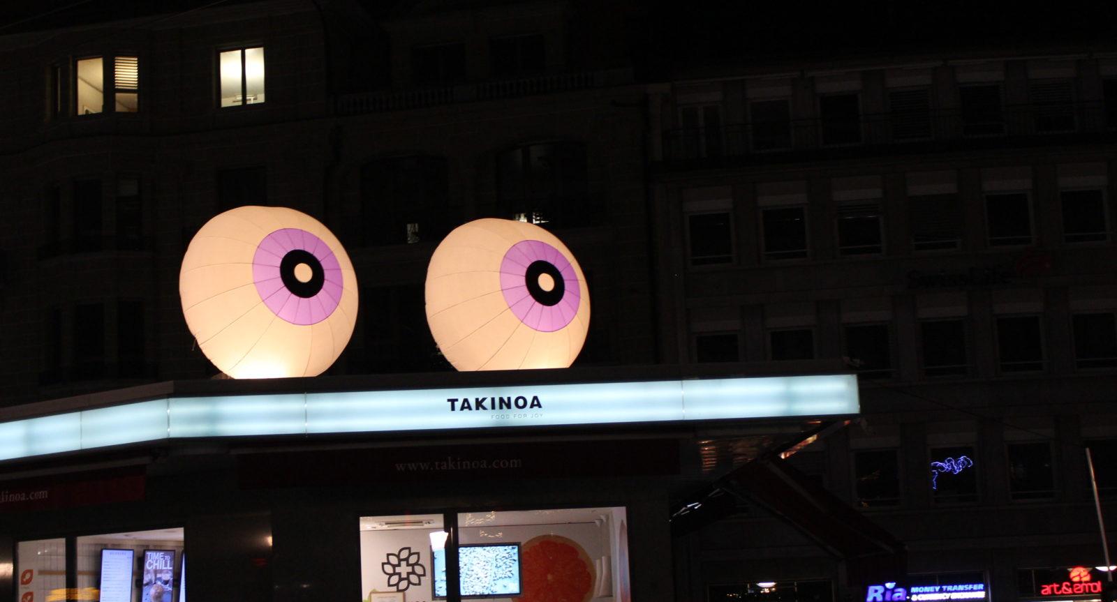 Les yeux lausanne Lumières
