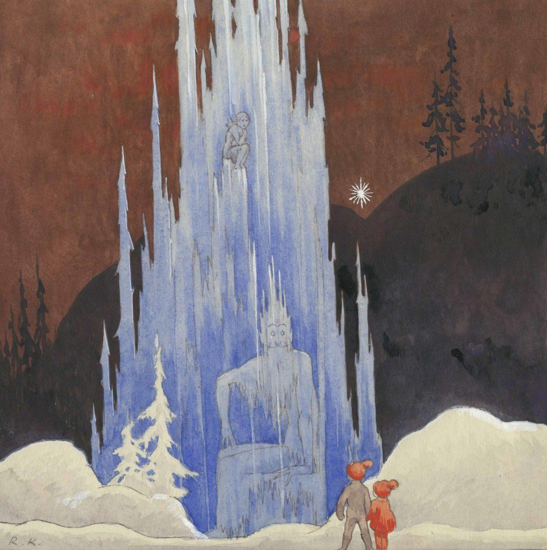 Palais Lumière 2018 - Légendes des Pays du Nord Rudolf Koivu Histoire de noel 1934